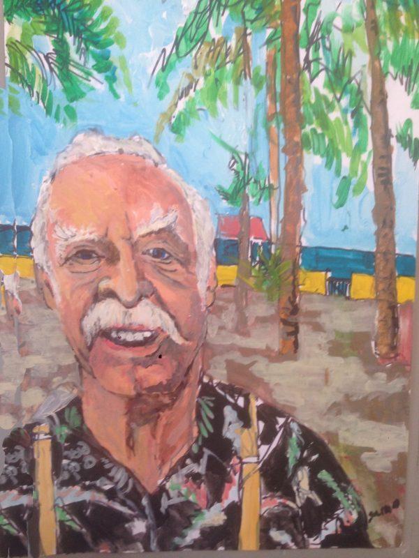 Man in Sayulita, Mexico