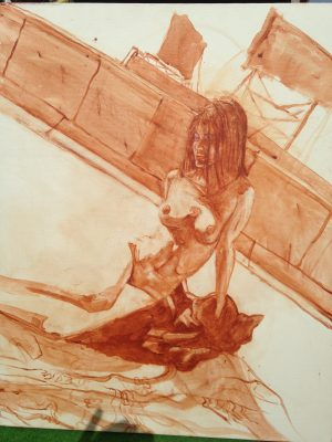 On The Roof 30X40