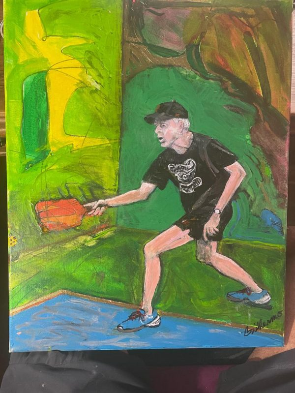 Psychedelic Pickleball
